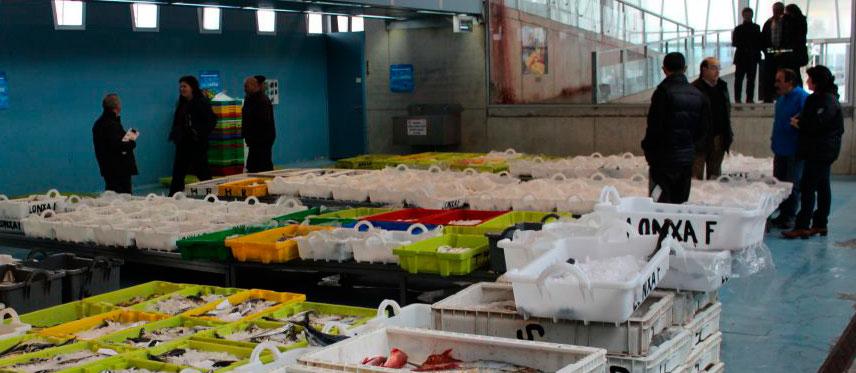 Comercio al por mayor de pescados y mariscos